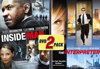The Inside Man The Interpreter DVD, 2006, 2 Disc Set, Side By Side