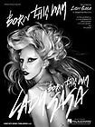 lady gaga born this way pvg sheet music buy it