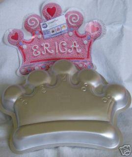 princess crown cake pan pans bakeware new