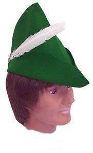 hat peter pan elf pixi robin hood