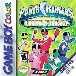 Power Rangers Time Force Nintendo Game Boy Color, 2001