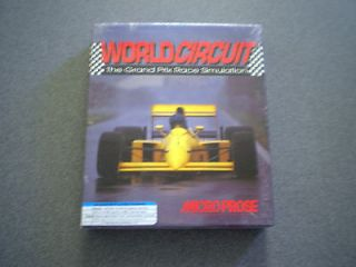 World Circuit The Grand Prix Race Simulation 3 and 1/2 DOS NIB