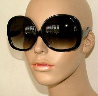 New Huge Oversized Retro Style Big Black Eye Fashion Sunglasses