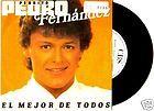 pedrito pedro fernandez 45 mexico cbs 1985