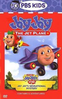 Jay Jay the Jet Plane   Jay Jays Sensational Mystery (DVD, 2006)