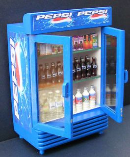 12 scale two door pepsi cooler dolls house miniature