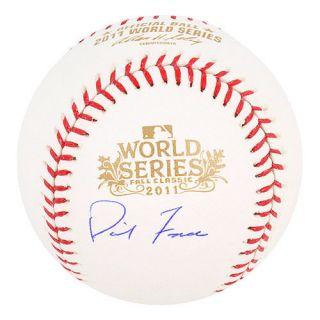 David Freese Signed 2011 World Series Baseball St. Louis Cardinals MVP