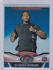 DAQUAN BOWERS 2011 TOPPS PLATINUM BLUE REFRACTOR ROOKIE #/299 BV$8