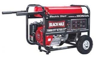 Coleman Powermate Black Max 8750 Generator