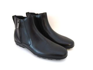 Salvatore Ferragamo Cispriano Mens Black Boots 12 EU 45 Made in Italy