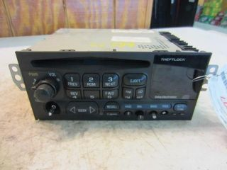 CHEVROLET BLAZER S10/JIMMY S15 A/V Equipment AM mono FM stereo CD