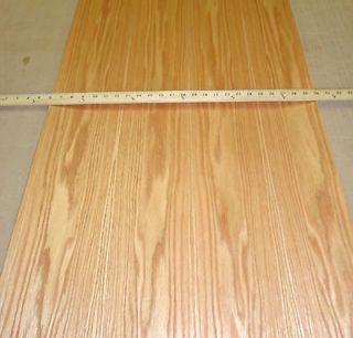 Red Oak prefinished wood veneer 24 x 96 with PSA (peel and stick