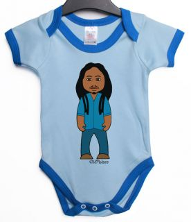 SOUL REBEL RASTA REGGAE BABY GROW VEST RETRO MUSIC CLOTHES GIFT V10