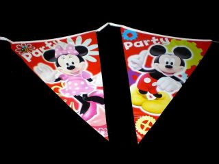 6m banner disney mickey minnie mouse birthday party supply