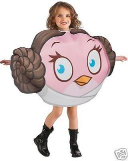 ANGRY BIRDS PRINCESS LEIA   OFFICIALLY LICENSED STAR WARS CHILD