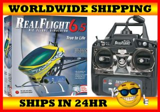 NEW GREAT PLANES REALFLIGHT 6.5 SIMULATOR MODE 2 W/ HELICOPTER MEGA