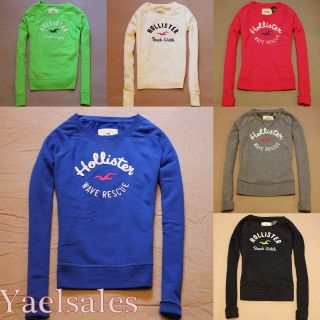 FALL 2012 Hollister Womens Sweatshirt Fleece Hoodie Jumper Pullover