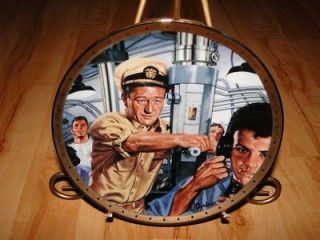John Wayne SYMBOL OF NAVAL STRENGTH Franklin Mint War Plate