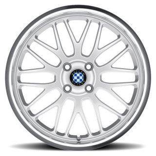 Fits All BMWs Beyern Mesh Silver Wheels 5x120 BMW 17 Wheel