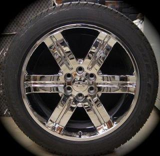 Yukon Sierra Cadillac Escalade Chrome 22 Wheels Rims Tires CK919
