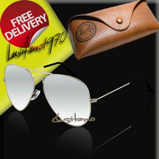 FREE Worldwide Delivery Sunglasses Ray Ban Aviator 3025 w3277 58mm