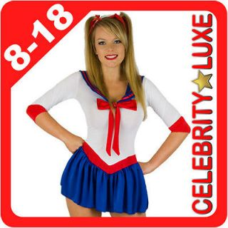 Newly listed New Ladies Navy Sailor Moon Fancy Dress Up Party Costume