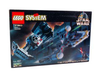 Lego Star Wars TIE Fighter & Y Wing 7150 Include DARTH VADER R5 D4