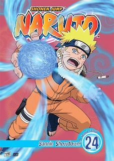Naruto   Vol. 24 Sannin Showdown DVD, 2008, Edited Dubbed