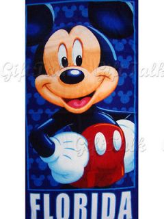 new mickey mouse beach bath soft cotton towel from hong