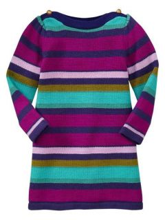 nwt baby gap girls striped sweater dress more options size