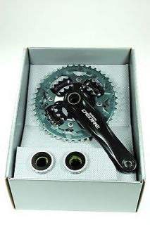 shimano deore 9 speed mountain bike crankset crank set one