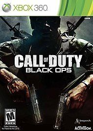 perfect condition call of duty black ops xbox 360 2010