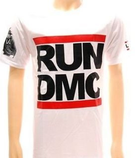 Run DMC hip hop king of rock Punk Pop Rap T shirt Sz M Tour Concert