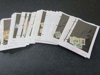 Newly listed WORLD SETS & SINGLES DEALER STOCK AS RECIEVED MINT & USED