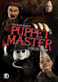 Puppet Master Collection (DVD, 2010, 9 D