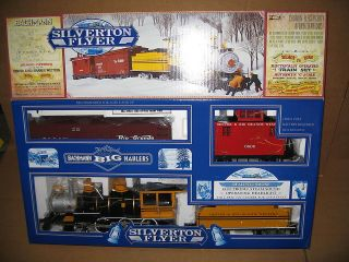 bachmann g gauge silverton complete train set