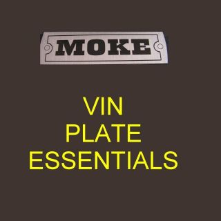 austin morris mini moke rocker box cover grille plate from