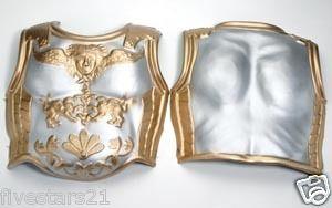 foam roman soldier gladiator warrior armor costume 2 piece