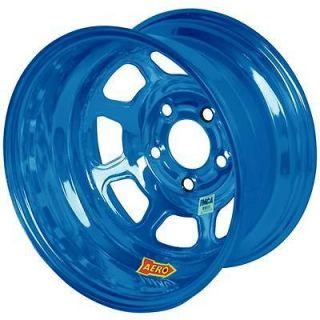 Aero Race Wheels 58 Series AEROBrite Blue Chrome Roll Formed Wheel 15
