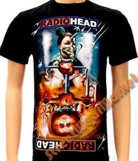 radiohead alternative thom yorke music men t shirt sz m
