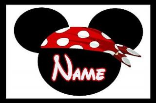 Newly listed 4x6 Disney Cruise Stateroom Door Magnet   MICKEY PIRATE