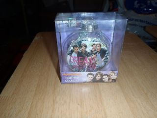 BIG TIME RUSH CHRISTMAS ORNAMENT GREAT SHOT OF THE GROUP NEW IN BOX