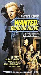 Wanted Dead or Alive VHS, 2001