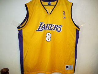 vintage l a lakers xl kobe bryant jersey by champion