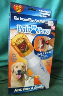 Incredible Pet Nail Trimmer As Seen on TV Used in Box Battery Powered