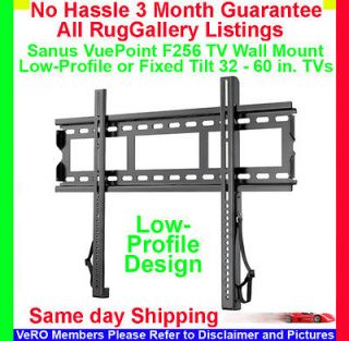Sanus VuePoint F256 Low Profile TV Wall Mount LCD Flat Screen Monitor