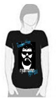 ryan dunn from jackass memorial t shirt random hero more