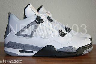 DS Nike Air Jordan IV 4 Retro 9 White Cement 2012 Concord Space Jam XI