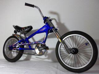 schwinn stingray orange county choppers 16 bicycle bike one day