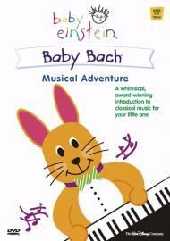 DISNEYS BABY EINSTEIN DVD BABY BACH MUSICAL ADVENTURE 2002